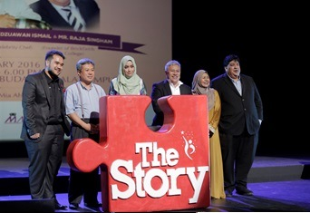 Partners Generasi Bersatu Malaysia in Presenting 'MY STORY'