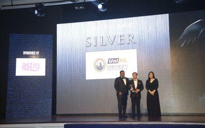 UniKL celebrates silver medal in Putra Brand Awards