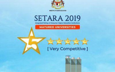 UniKL Awarded 5-Star SETARA Rating
